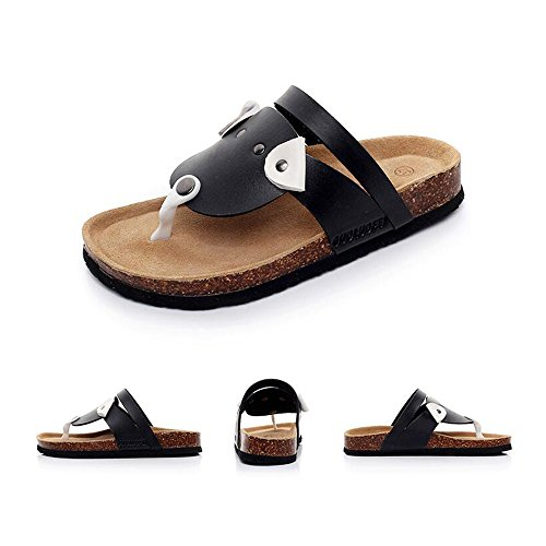 taille Beach 1 5 CN36 Couleur Pinch EU36 Sandals Femme 2 UK3 Sandales d'été Cartoon Cork znpX1