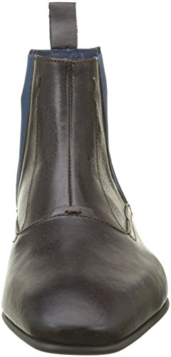 Hexagone Marcello, Men's Chelsea Ankle Boots Brown (Veau Dirty Tdm)