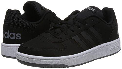 noir 2 Pour Hommes 000 0 Adidas Hoops Baskets Noir Sx07pzn
