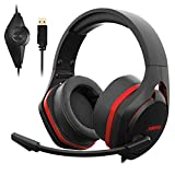 Jeecoo V22 Gaming Headset for PC- Strong Bass