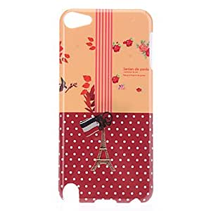 Eiffel Tower Pattern Protective Hard Case for iPod Touch 5