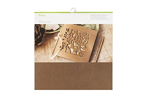 Cricut LEATHER METALLIC BRONZE 12X12,