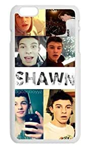 Yangqi Shawn Mendes Magcon boys Hard Plastic case cover protector for Apple iPhone 6 Plus 5.5 inch White