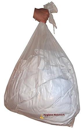 100 bolsas para la ropa sucia de 87 L. Para ropa sucia y de ...