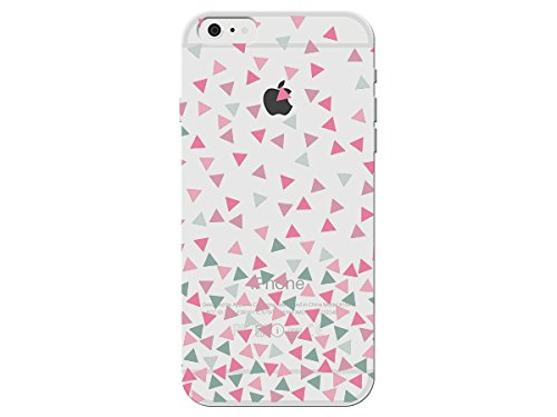 Amazon Com Multicolor Pink Gray Teal Triangle Pattern On