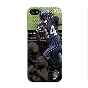 Fashion Popular Nfl Seattle Seahawks Team Logo Durable Rubber Iphone 5/5S Case