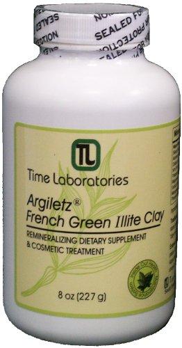 Argiletz French Green Illite Clay Powder 8 oz