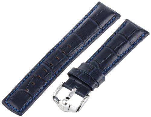 Hirsch 025280-80-22 22 -mm Genuine Calfskin Watch Strap by Hirsch -  236731