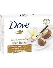 Dove Wasstuk Beauty Cream Bar met sheaboter, vanille en 11/10 4 moisturizer en milde reinigingssubstansen voor dagelijks gebruik, per stuk verpakt (1 x 100 g)