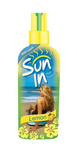 Sun-In with Lemon, Spray-In Hair Lightener, 4.7 Ounce (Pack of 6)