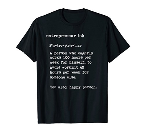 Entrepreneur Tee Shirt (Light on Dark)