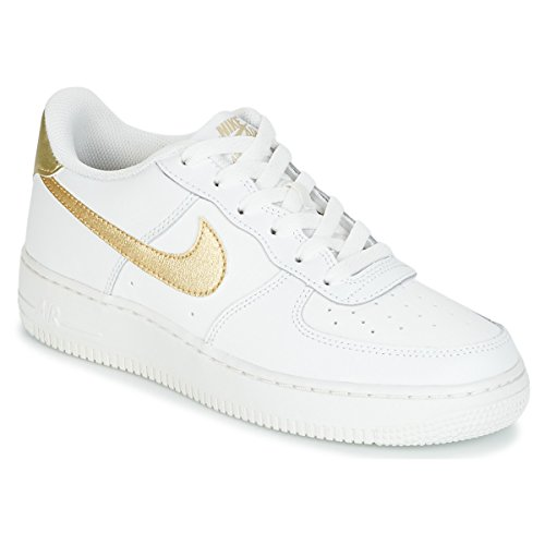 Air Basketball Chaussures GS Force de Nike Fille blanc EU 1 AdwpY7