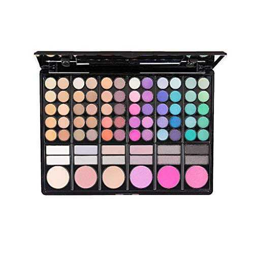 ELLITE Professional 78 Colors Eyeshadow Makeup Cosmetic Palette Eye Shadow Set for Blush lipsticks Highlighters or Liner Shades