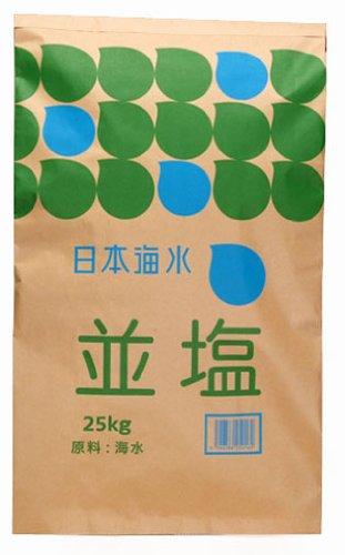 日本海水 並塩(讃岐) 25kgの商品画像