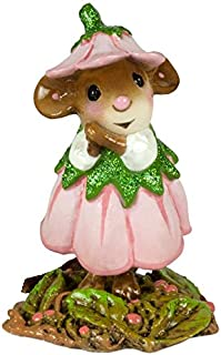 product image for Wee Forest Folk M-640d April Flower Mouse of The Month (New 2018)
