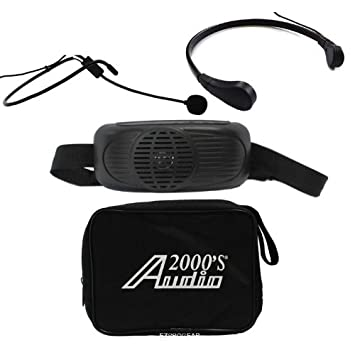 Audio2000'S AWP6202  Waist-Band Portable PA System with a Headset Microphone H & F Technologies Inc.
