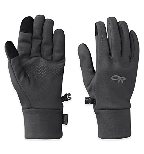 Outdoor Research Women's PL 100 Sensor Gloves, Charcoal Heather, M