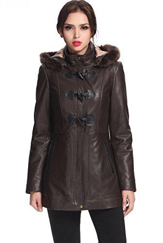 Leather Lamb Coat - 6