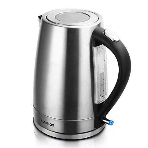 Cusimax 1.7 L BPA-free Electric Kettle, Stainle...