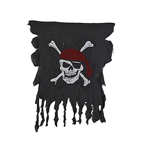 Orgrimmar Skull and Crossbones Pirate Flag Door Hanger Decoration for Halloween Party House Garden Indoor or Outdoor Decor ()