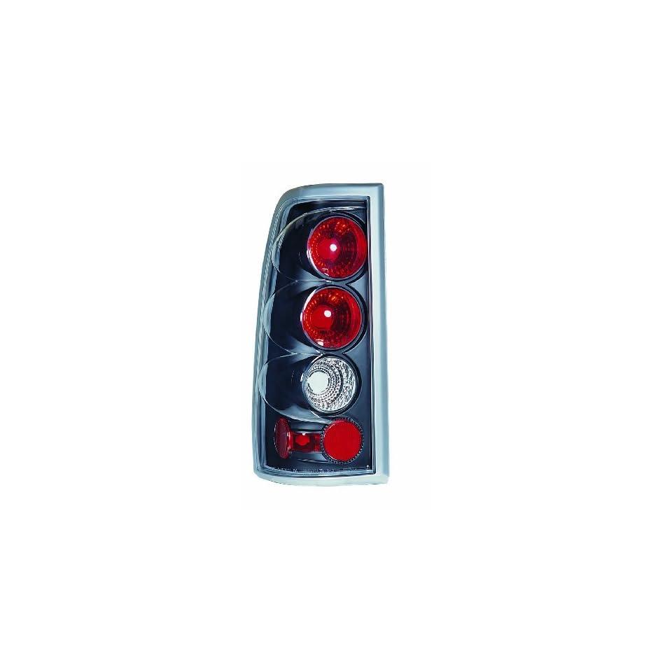 99 02 Chevy Silverado / GMC Sierra JDM Black G2 Altezza Euro Tail Lights