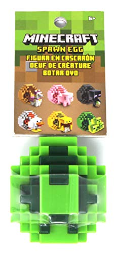 Minecraft Spawn Egg Mini Action Figure - Slime