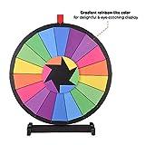 "WinSpin® 24"" Tabletop Editable Color Prize Wheel"
