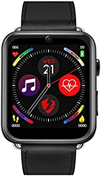 HWTP LEM10 4G Smart Watch Android 7.1 1.88 Pulgadas 360 ...
