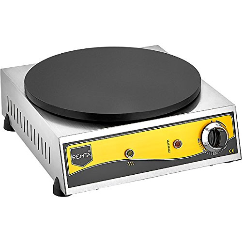 Remta KR1 Commercial Electric Crepe Maker Machine Heavy Duty Stainless...
