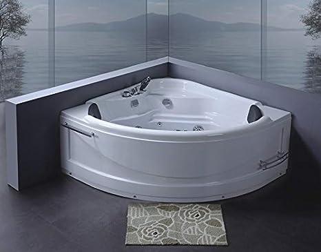 Vasca Da Bagno Doppia : Vasca da bagno idromassaggio doppia 130x130: amazon.it: casa e cucina