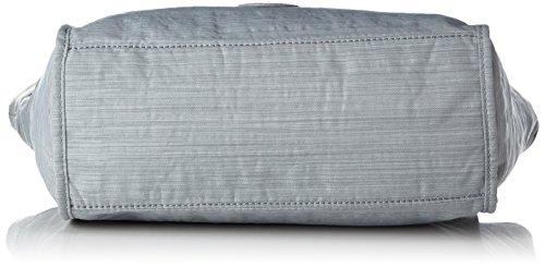 Kipling Damen New Shopper S Tote, 42x27x13 cm Grau (Dazz Grey)