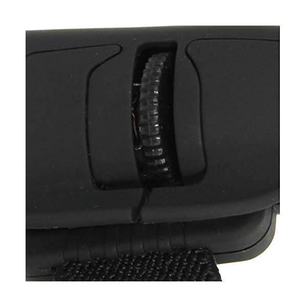 Sungpunet USB Finger Mouse Bluetooth Wireless Mouse Ottico della Maniglia Finger Ring Mouse per Laptop Notebook pc-Black 3 spesavip