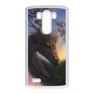 LG G3 phone case White Ancient Dragon GHHL6528809