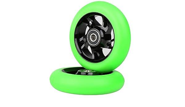 Kutrick 2 ruedas de repuesto para patinete de 100 mm con ...