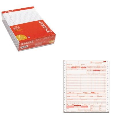KITPRB05109UNV20630 - Value Kit - Paris Business Products UB04 Claim Forms (PRB05109) and Universal Perforated Edge Writing Pad (UNV20630) by Paris Business