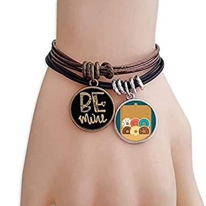 SeeParts Gold Mine Quote Handwrite Bracelet Rope Doughnut Wristband Estimated Price £9.99 -
