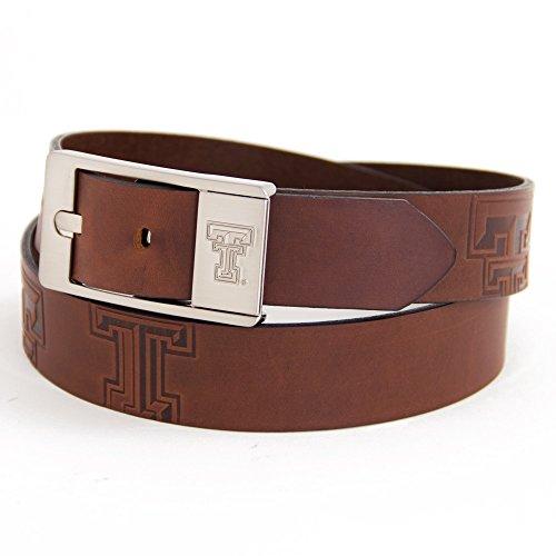 (Eagles Wings Texas Tech University Brandish Leather Belt (34))