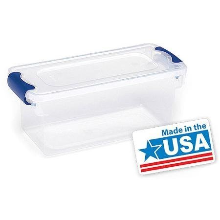 Superieur Homz Small Clear Plastic Storage Containers, Set Of 5