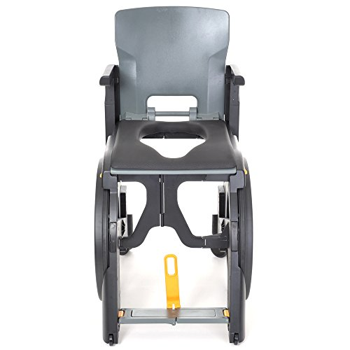 Wheelable Folding Shower Commode Chair (Eligible for VAT Relief in The UK)