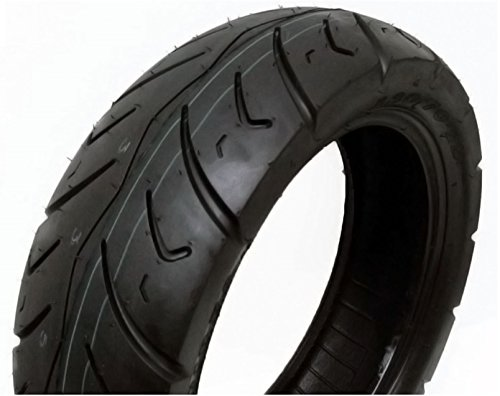 (Tire 120/90-10 Tubeless Front/Rear Motorcycle Scooter Moped STREET TIRE (P116))