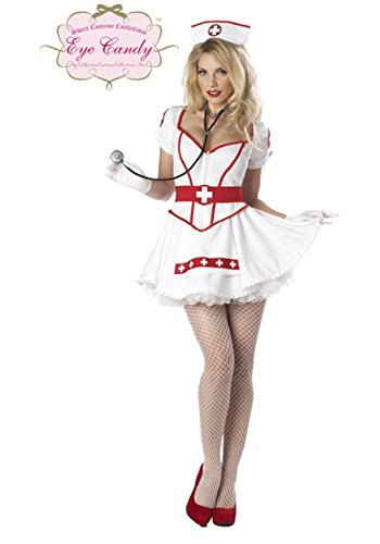 Sexy Women Nurse Heart Breaker Doctor Adult Costume ()