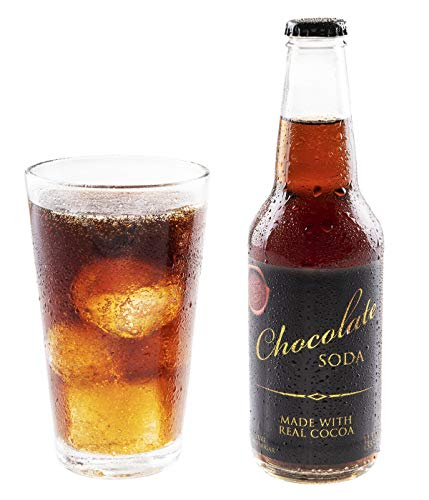 (All Natural Chocolate Soda Rocket Fizz)