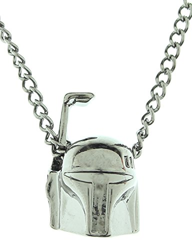 Star Wars Boba Fett Gunmetal Necklace (Shark Tank Products Jewelry compare prices)