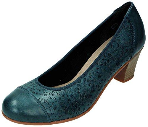 Remonte Dorndorf - Zapatos de vestir para mujer Azul Mare Azul - Mare
