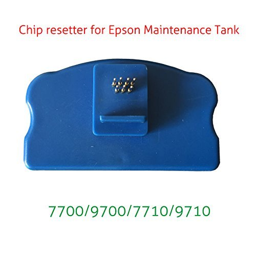 Syoon Maintenance Tank Chip Resetter For Epson Stylus Pro 7700 9700 7710  9710 Printer Waste Tank Chip Resetter