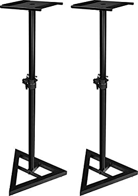 Ultimate Support JS-MS70 JamStands Series Studio Monitor Stands (Pair) by DJ Tech Pro USA, LLC