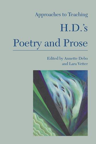 Approaches Teaching H D S Poetry Literature PDF A6eae8e0b