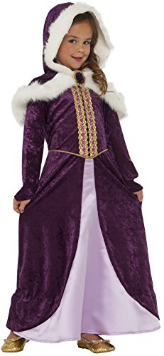 Rubie's Costume Winter Princess Deluxe Child Costume, (Princess Winter Costumes)