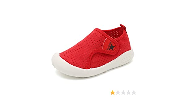 Toddler//Little Kid SC1588 D.Red 15 CIOR Kids Shoes Boys Girls Mesh Shoes Casual Breathable Sneakers Water Shoes for Walking Running Sport Pool Beach