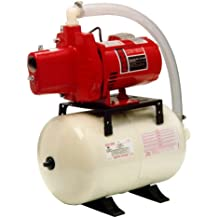 Red Lion RJS-50/RL6H 1/2 HP Shallow Well Jet Pump System, 6 Gallon